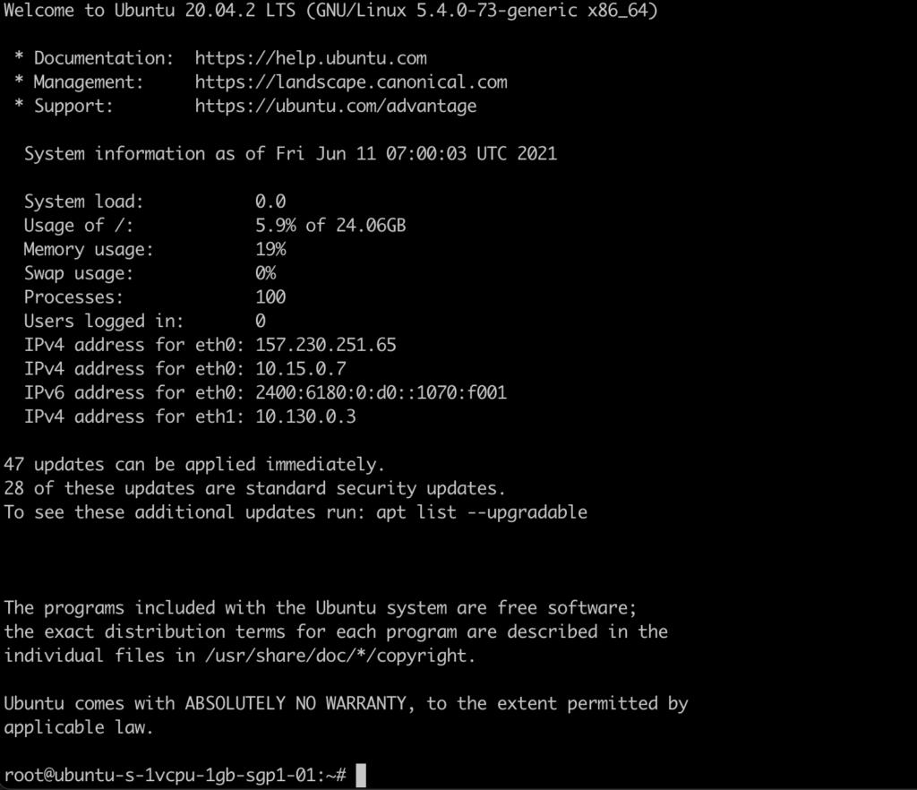 SSH to VPS/Server