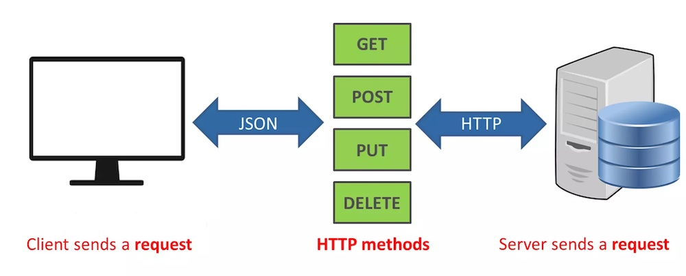 rest api client server