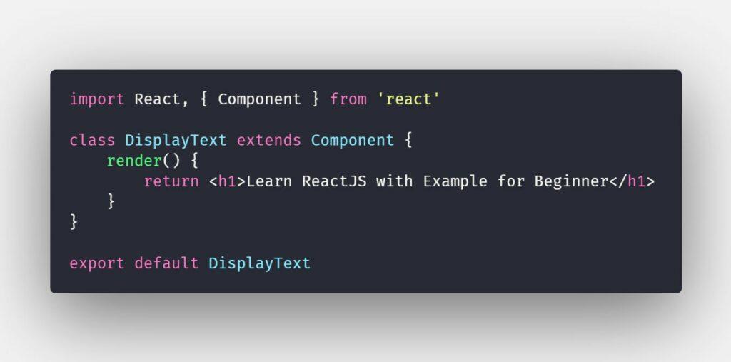 Component trong ReactJS