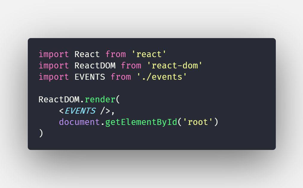 Làm việc với Event trong ReactJS