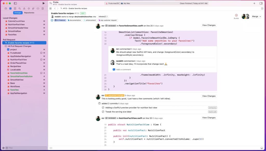 WWDC: Xcode 13 đã có CI / CD và quy trình review code